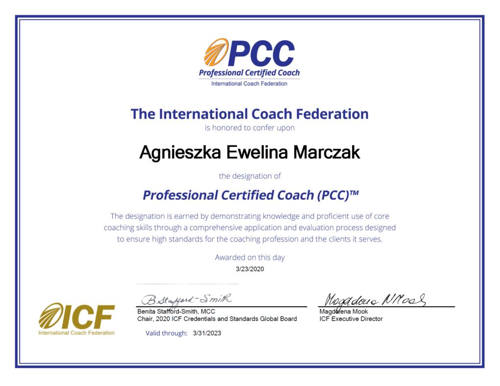 Agnieszka Marczak PCC